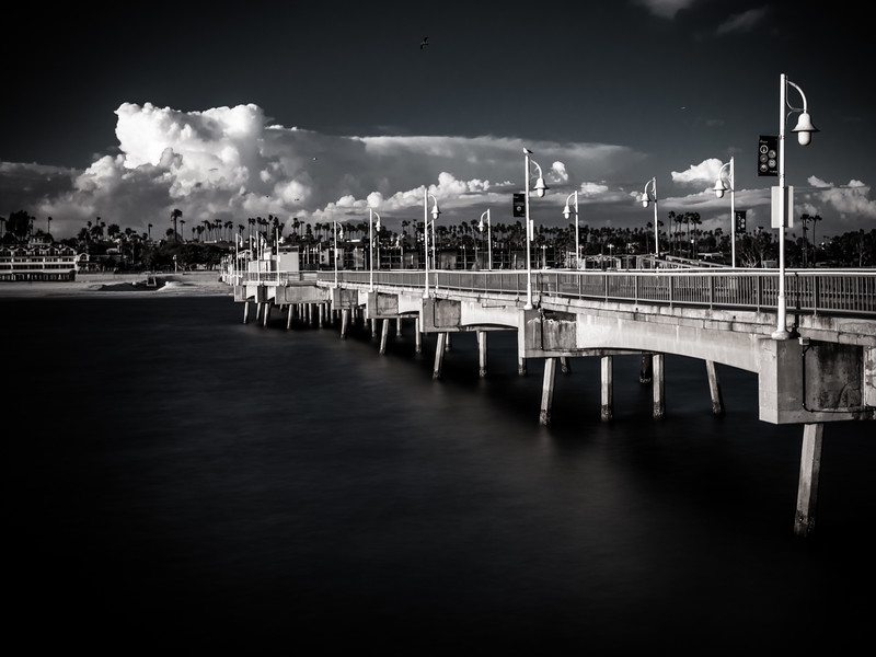 Belmont Pier with Thunderhead