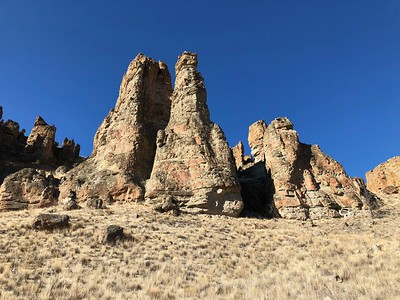 John Day Fossil Beds Clarno Unit and Black Canyon (11.19.2018)