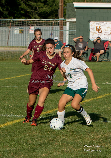 DHS VS Alverine Soccer 090415