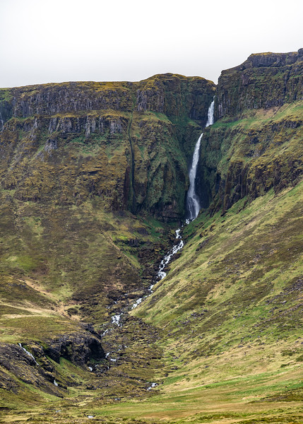 Riverlet Waterfall in Iceland  Photography by Wayne Heim