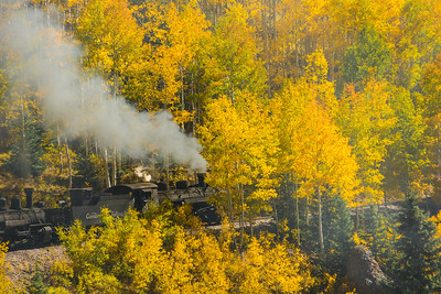 Cumbres & Toltec Steam Train