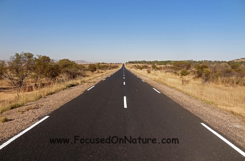 The only good Malagasy road