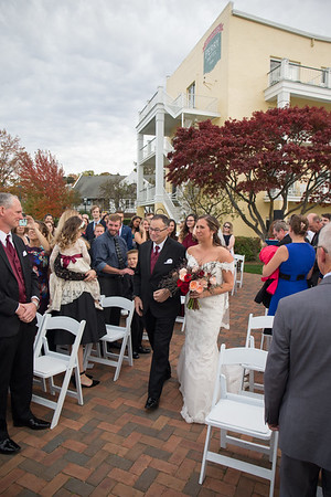 Stafford's Perry Hotel Wedding Petoskey Northern Michigan Fall Brittany + RJ