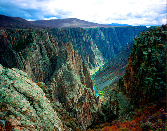 Black Canyou of the Gunnison