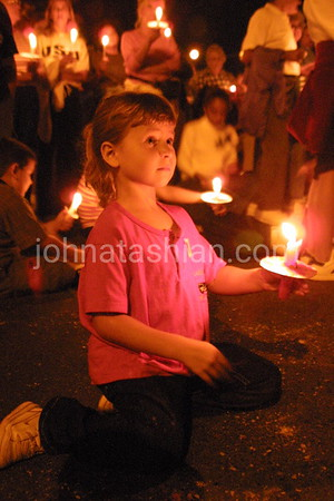 Bristol Chamber of Commerce - Candle Lit Vigil - September 18, 2001