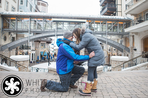 Vail Wedding Proposal - Arrabelle, Lionshead