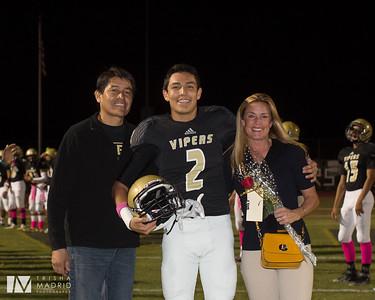 Viper Football Senior Night