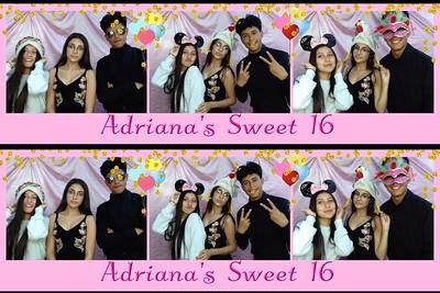 Adriana's Sweet 16 September 29, 2018