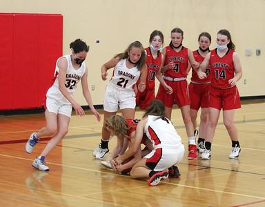 US Girls Basketball JV vs Liberty 6-4-21