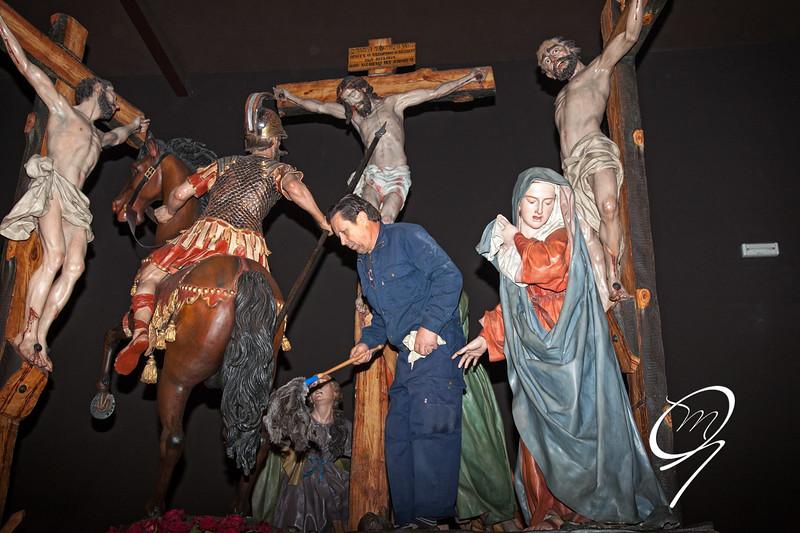 Museo de la Semana Santa en Zamora. Un poco de limpìeza.