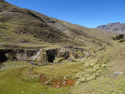 Peru Day 6: Ancasmarca hike, Ollantaytambo