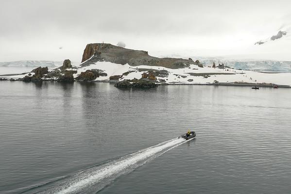 Antarctica: Half Moon Island