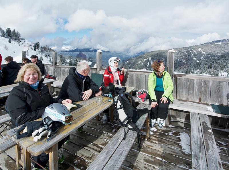 Skiing in Kühtai