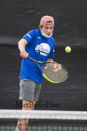 2021-4-20 WHS Boys Tennis vs Dover