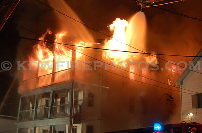 Revere, MA - 3rd Alarm - 58 Campbell Ave - 12/29/06