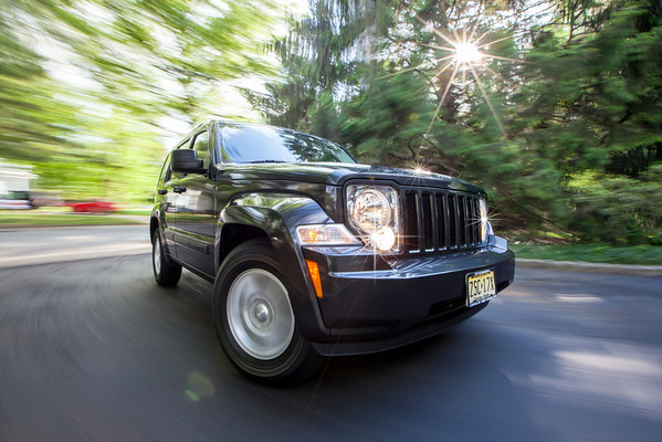 Jeep in Motion
