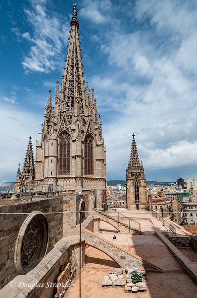 Barcelona: View from the Cathedral roof