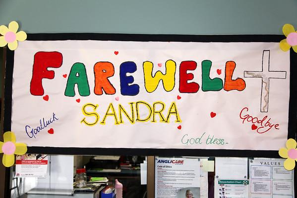 Ashmont Community Centre - Farewell Sandra.