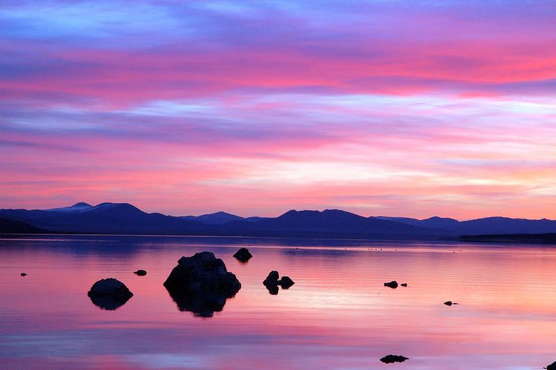 Mono Lake Eastern Sierra, California (pastel)