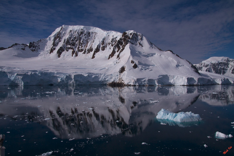 Up close and personal in the Antarctic's Lemaire Channel.