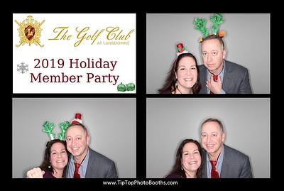 Lansdowne Golf Club Member Party