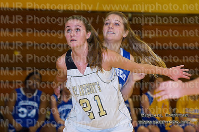 St Anthonys Vs Kellenburg, Girls Varsity Basketball 01.21.11