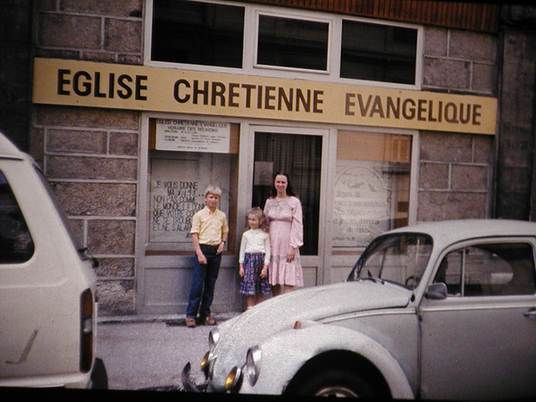 1981: First Year in France