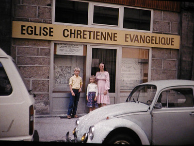 1981-1991 : Missionary Kid in France
