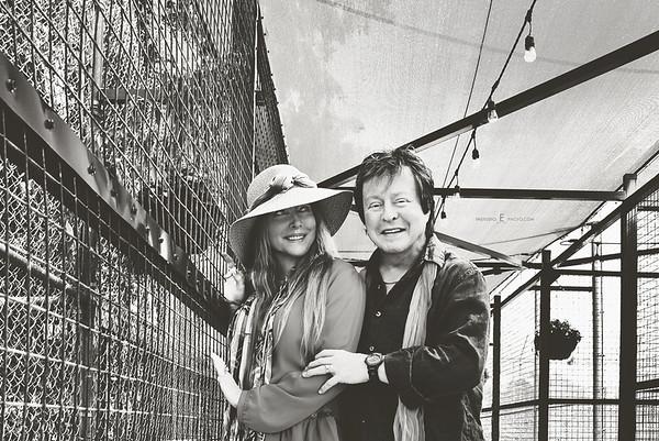 Rick & Jenda Derringer at Big Cat Habitat