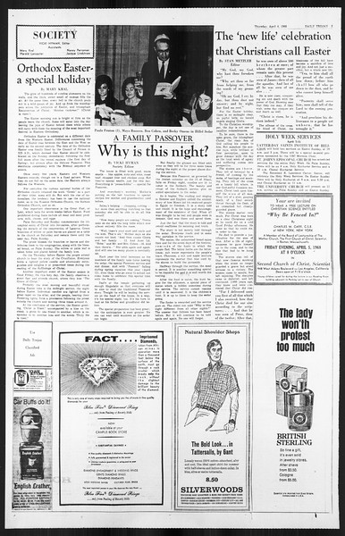 Daily Trojan, Vol. 59, No. 104, April 04, 1968
