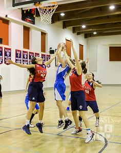 TASIS Girls Basketball at home against ASM
