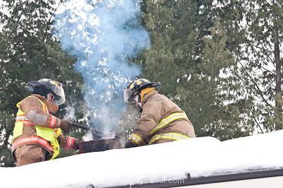 Chimney Fire West Windsor