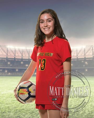 2019 Castle View Girls Soccer