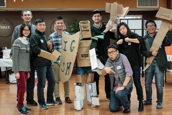 2017-01-13 IGSM Cardboard Knights