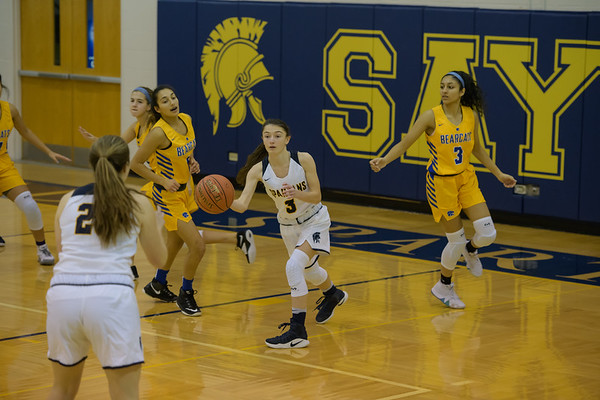 Sayre Girls Basketball 2018