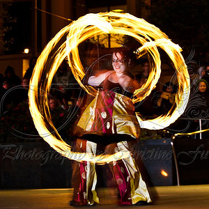 Temple of Poi Fire Dancing
