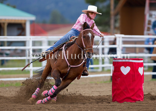 Junior Barrel Racing.. Princeton