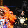 Donald Harrison, Jr. and the Mardi Gras Indians at New Orleans Jazz & Heritage Festival 2013