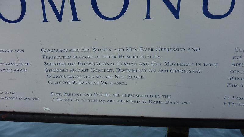 Closeup of the english text