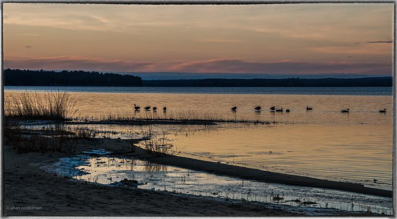 December Sunset on Ottawa River
