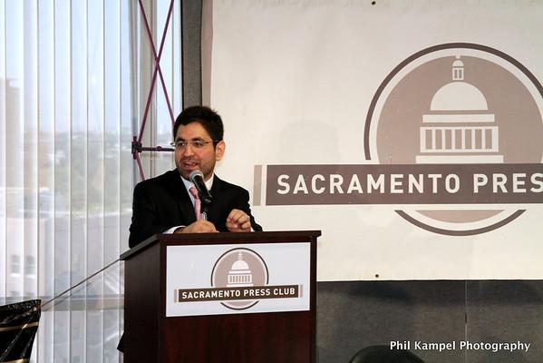 Sacramento Press Club luncheon Aug 2012