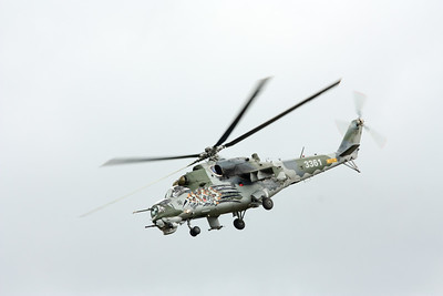 Mil Mi-35 Hind E (3361), c/n: 203361, 221 Attack Helicopter Squadron, Czech Air Force