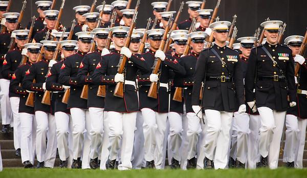Marine Corps Sunset Parade (2015)