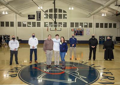 Basketball Senior Day 2021
