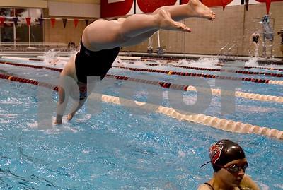 Dowling @ Fort Dodge Girls Swimming 9/27/16