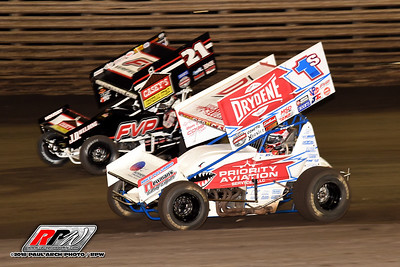 Knoxville Nationals - Knoxville Raceway - 8/10/18 - Paul Arch