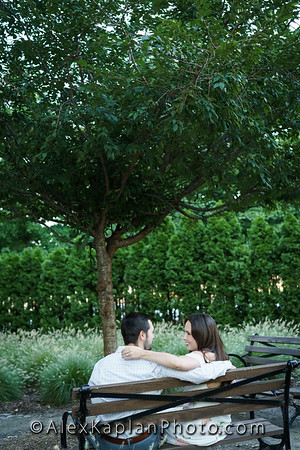 Engagement Session in Hoboken New Jersey