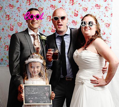 Ben & Lianne's Wedding Photo booth