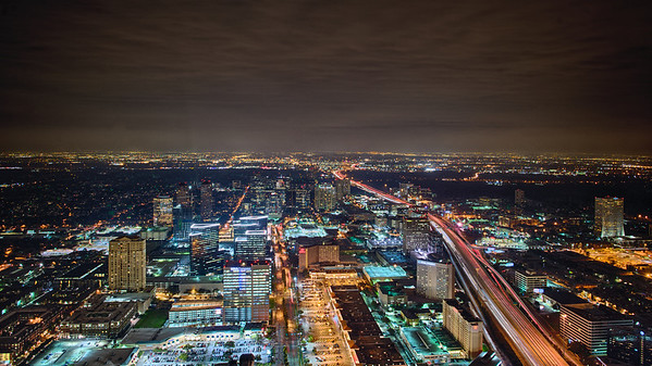 Houston from Above