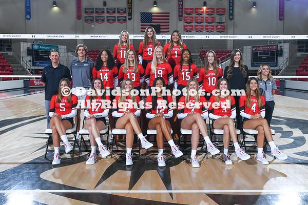 2021-22 Volleyball Team Media Photos